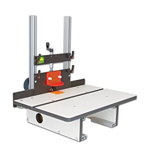 Woodhaven 6000 horizontal router table sjs 2c for Best horizontal router table