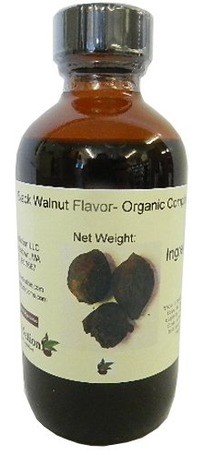 Natural Black Walnut Extract by OliveNation - Its Organic Compliant Adds Delicious Walnut Flavor to Recipes – Size of 4 Oz