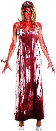 Carrie Adult Costume キャリー大人用コスチューム♪ハロウィン♪サイズ:Medium