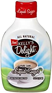 Kelly's Delight: All Natural Liquid Cane Sugar
