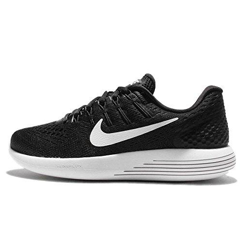 Nike Women's Lunarglide 8 Black/White Anthracite Running Shoe 8 Women US