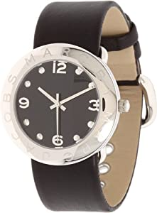 Marc by Marc Jacobs Women's MBM1140 Amy Black Dial Watch