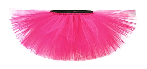 Hot Pink Girls and Teens Playful Tulle Tutu