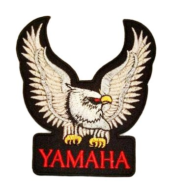 YAMAHA Eagle Motorcycles Bikes Vintage Racing Accessories Jacket BY18 Patches