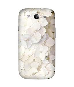 White Flowers Samsung Galaxy S3 Case