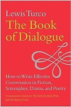When writing a book how do you write dialogue