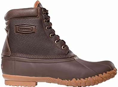 """LaCrosse Men's 8"""" 6 Eye Leather Pac 200G Snow Boots,Brown,8 M US"""
