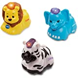 VTech Baby Toot-Toot Animals 3-Pack - Elephant, Zebra and Lion