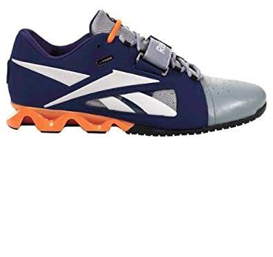 Buy Reebok Mens Lifting Sneakers J99456 Crossfit Lifter Blue Leather by Reebok