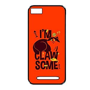 Vibhar printed case back cover for Xiaomi Mi 4i ClawSome