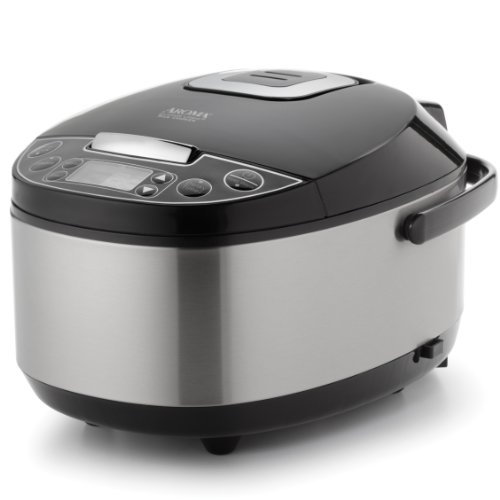 Aroma Housewares Professional (6 Cup uncooked rice resulting in 12 Cup Cooked rice), Rice Cooker, Food Steamer & Slow Cooker, Stainless Steel Exterior (Rice Cook Pot compare prices)