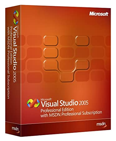 Microsoft Visual Studio Professional w/MSDN Professional 2005 renewal [OLD VERSION]