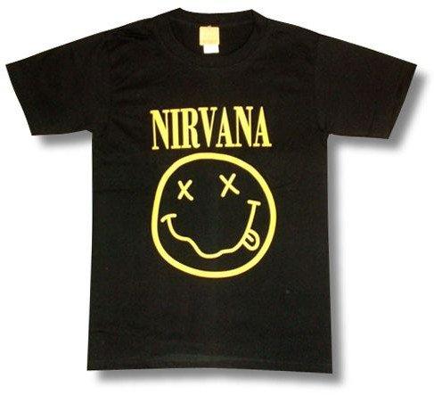 ニルヴァーナ/スマイル/カート・コバーン/NIRVANA/Tシャツ/ロックTシャツ/バンドTシャツ