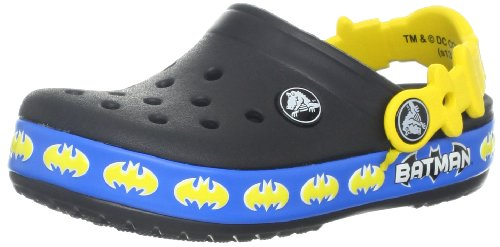crocs 14726 CB Batman shield Clog ,Black,3 M US Little Kid
