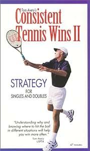 Consistent Tennis Wins 2 [VHS]
