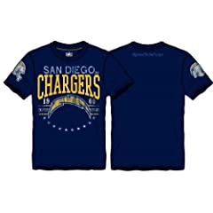 NFL San Diego Chargers Big Time Distressed T-Shirt Licensed by NFL Shop