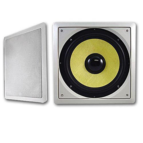"Acoustic Audio Hds10 In-Wall/Ceiling 600 Watt 10"" Home Theater Passive Subwoofer Pair Hds10-Pr"