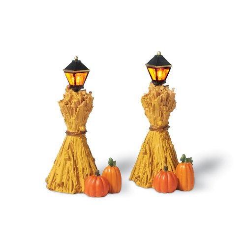 Department 56 Corn Stalk Lanterns, Set of 2