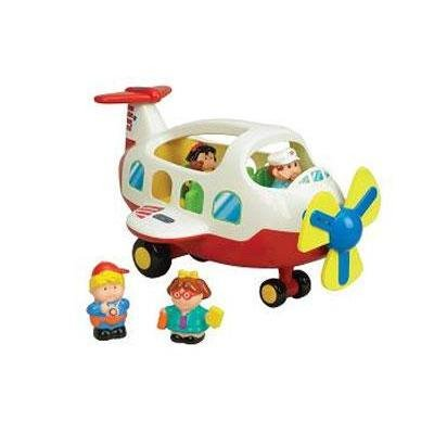 Small World Toys Activity Plane front-769800