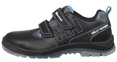 Helly Hansen Workwear, 78208, Sandalo di sicurezza S1 P SRC Helly Hansen scarpe da lavoro Sandalo Vika, 40, nero