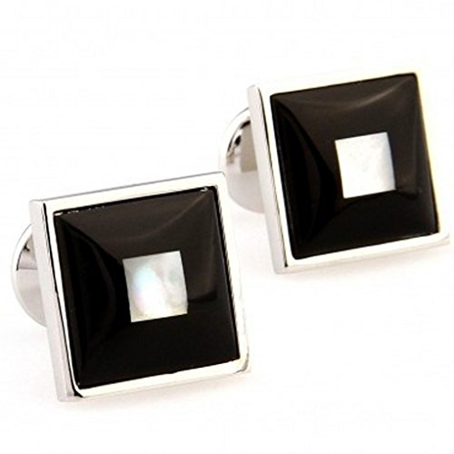 Magic Necklace Cufflinks For Men Or Women Designs TZG06629 Enamel Cufflink 1 Pair