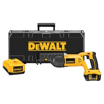 DEWALT DCS385L  18-Volt Cordless XRP Lithium-Ion Reciprocating Saw Kit