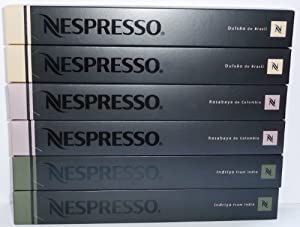 60 Nespresso Capsules Pure Origin Mixed Variety
