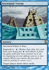 Magic: the Gathering - Ancestral Vision - Time Spiral