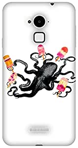 The Racoon Lean Ice Cream Monster hard plastic printed back case / cover for Coolpad Note 3
