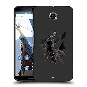 Snoogg Dolphins Designer Protective Back Case Cover For MOTOROLA NEXUS 6
