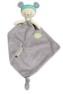 Pioupiou et Merveilles 16165 - Manta para bebé con peluche, diseño de ratón