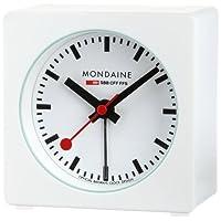 [モンディーン]MONDAINE デスククロック キューブ アラーム ホワイト A996.ALIG.10SBB