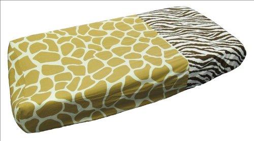 Sisi Baby Design Diaper Changing Table Pad Cover -African Safari