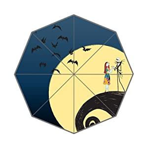 Film&The Nightmare Before Christmas Background Triple Folding Umbrella ...