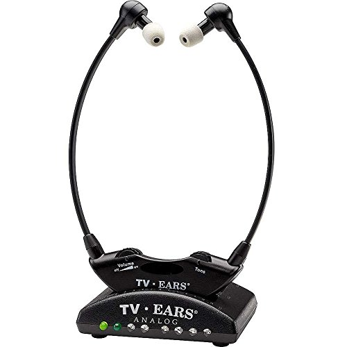 Tv Ears Tv Listening Analog Wireless Headphone System With Voice Clarifying Circuitry And Tone Control