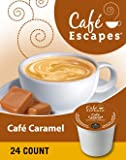 Café Escapes Café Caramel K-Cup Pack,24 Pack