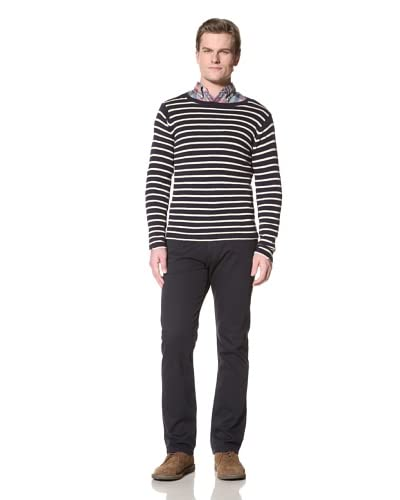 GANT Rugger Men's The Breton Split Crue Shirt  [Navy]