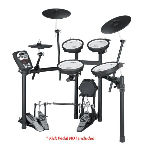 Roland Td-11Kv-S | High-Performence V-Compact Series Supernatural Powered Electronic Drum Set With Professionally Recorded Backing Songs Onboard Usb Function