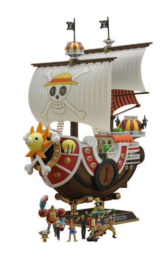 One Piece: Thousand Sunny Ship New World Ver. Plastic Model Kit [Toy] (japan import)
