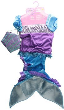 Manhattan Toy Maddie Mermaid Groovy Girl (Girl Size) Dress-Up - Blue (Make Believe Fancy Dress)