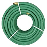 "Polyurethane Air Hose with Green Thread or No Fittings Size: 1/4"" x 100'"