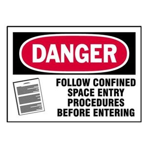Equipment Label, 3-1/2 In. H, PK 5