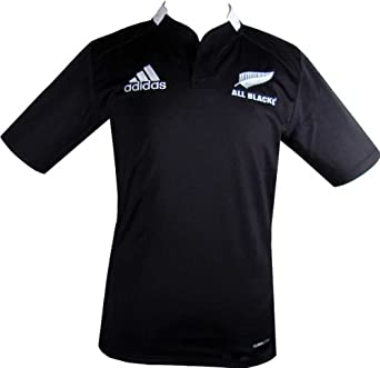 Buy Adidas New Zealand All Blacks Rugby Home Jersey by adidas