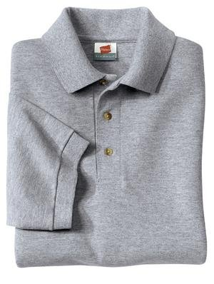 Hanes Stedman - 7-Ounce Pique Knit Sport Shirt Light Steel-4XL - Buy Hanes Stedman - 7-Ounce Pique Knit Sport Shirt Light Steel-4XL - Purchase Hanes Stedman - 7-Ounce Pique Knit Sport Shirt Light Steel-4XL (Hanes, Hanes Mens Shirts, Apparel, Departments, Men, Shirts, Mens Shirts, Casual, Casual Shirts, Mens Casual Shirts)