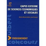 CAPES externe de Sciences Economiques et Sociales