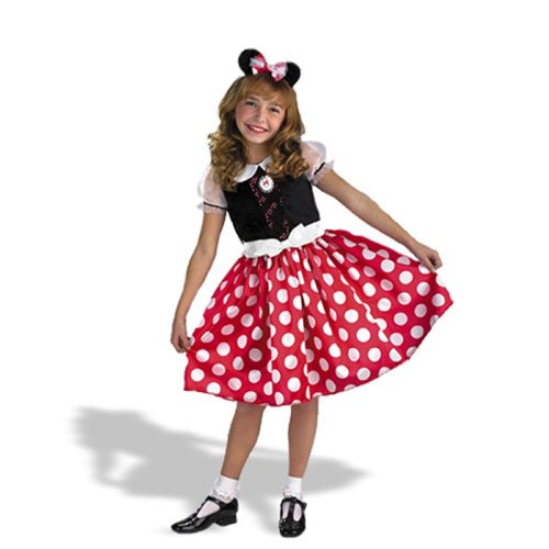 Toddler Minnie Mouse Dress front-8417