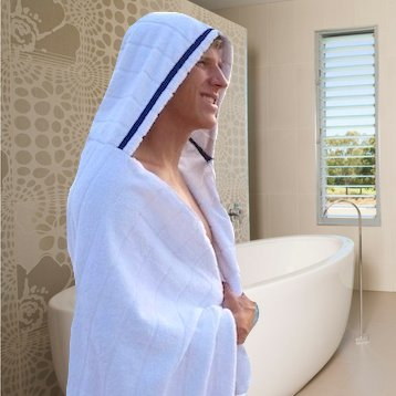 Men's Hooded Towel from TowelHoodies (Adult Size Hooded Towel compare prices)