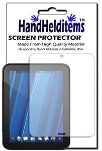 HandHelditems(TM) HP TouchPad Crystal Clear Screen Protector (Free HandHelditems Sketch Universal Stylus Pen)