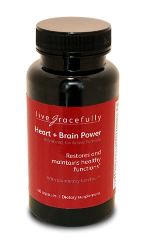 Heart + Brain Power. This Co-Active Formula Helps Brain And Heart Cells Work At Peak Levels For A Sharp Mind And A Strong Heart At Any Age. Revitalizes Cardiovascular, Circulatory, And Brain Cell Functions To Optimize Healthy Blood Flow And Help Slow Down