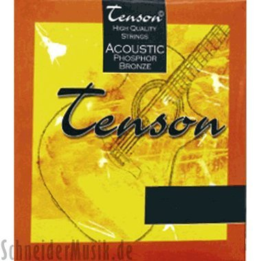 Tenson Acoustic Phosphor Bronze, Custom Light